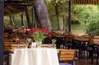 terrasse de restaurant et saisonnalité