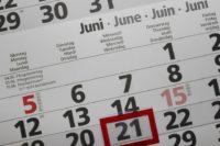 calendrier pour prélèvement trimestriell ou mensuel