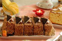 cake partagé en 5 parts - amortissements