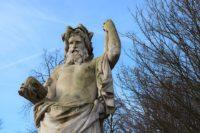 statue du dieu grec Zeus