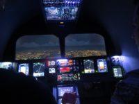 piloter grâce aux informations -tableau de bord d'un avion